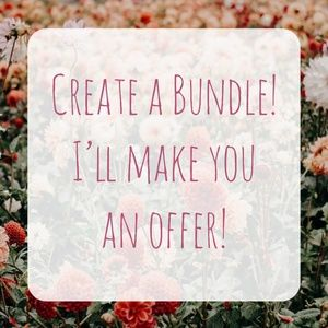 Other - Create a Bundle! I'll Make An Offer!